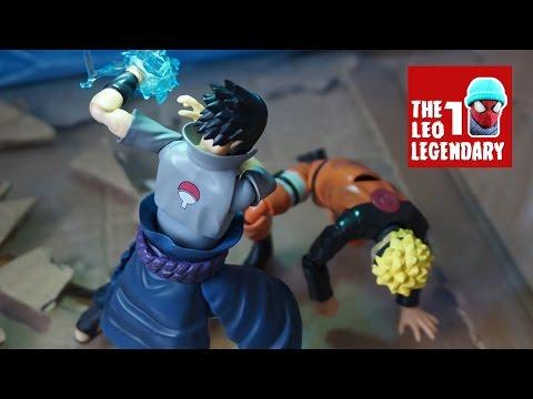 Naruto vs Sasuke Epic Final Fight Stop-Motion
