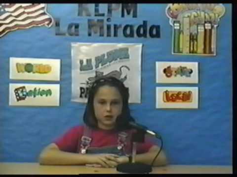 KLPM News La Pluma Elementary School 4/21/99