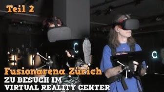 Virtual Reality in der Fusion Arena #02: VR-Shooter mit 5 Leuten