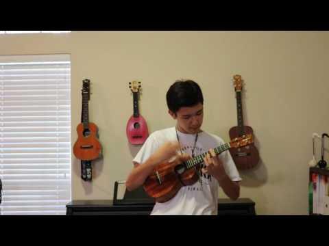 Kawika - Jake Shimabukuro (cover) solo ukulele