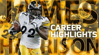 James harrison's full career highlights: from undrafted to all-pro | nfl legends highlights