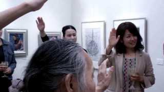 展覧会 「一生画家宣言。」 宣誓式 田中えみ 検索動画 23