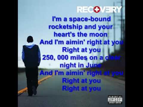 Eminem  Space Bound LYRICS