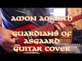Amon Amarth Guardians Of Asgaard Guitar Cover With Guitar TAB mp3