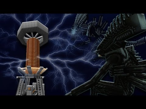 Nauticomorph & Tesla Coil Update | Minecraft AVP Spotlight