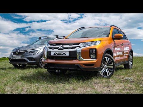 Новый Mitsubishi ASX 2020 против Рено Аркана. Боевой тест сравнение конкурентов Креты. Игорь Бурцев