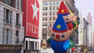 Santa Claus is arriving at Macy's Thanksgiving Day Parade