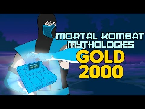O JOGO PODRE DO SUB-ZERO PARA SNES - MORTAL KOMBAT MYTHOLOGIES GOLD 2000