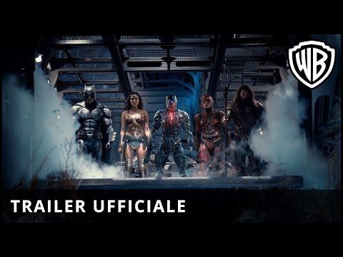 JUSTICE LEAGUE - Trailer Italiano Ufficiale   HD