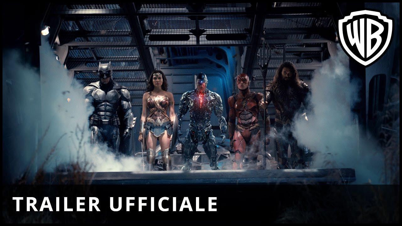 JUSTICE LEAGUE - Trailer Italiano Ufficiale | HD
