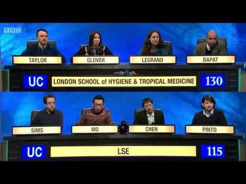 University Challenge S44E06 London School of Hygiene & Tropical Medicine vs LSE