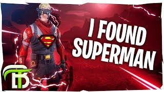 SUPERMAN FORTNITE GLITCH? (Fortnite Battle Royale)