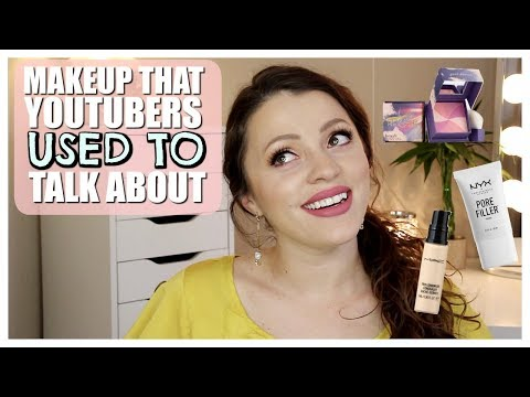OG YOUTUBE MAKEUP | What People USED to Talk About
