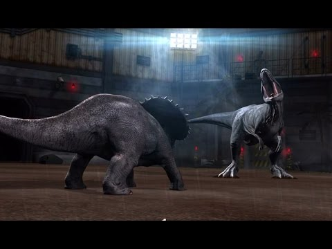 Jurassic World TRICERATOPS VS MAJUNGASAURUS