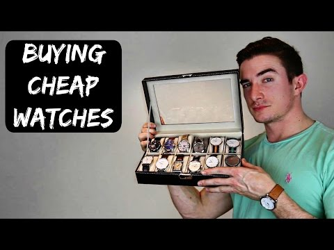 Buying Cheap Watches - My Opinion