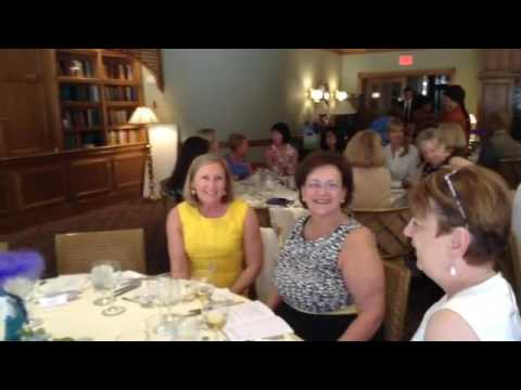 Lowell General Hospital lovely women Auxiliary luncheon At Stonehedge Inn! Z List! XO