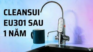 Review máy lọc nước điện giải Cleansui EU301 sau 1 năm sử dụng