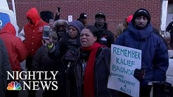 Heated Protests Outside Brooklyn Jail Where Workers, Inmates Went Days Without Heat | Nightly News