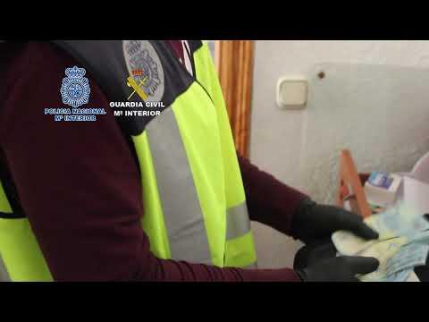 Operación contra la marihuana de la Policía Nacional