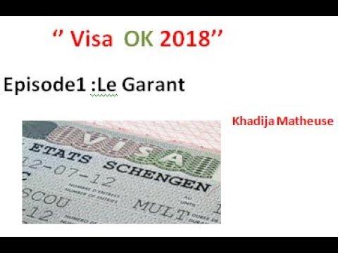 Visa OK 2018??Première étape !!