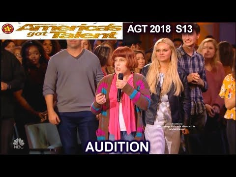 Cristy Joy High Pitch singer Asked The Audience to Judge her America's Got Talent 2018 Audition AGT