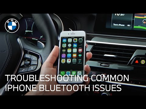 iPhone Bluetooth Troubleshooting | BMW Genius How-To