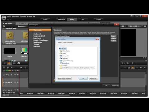 Erste Schritte mit Pinnacle Studio 16 und 17 Video 1 von 114