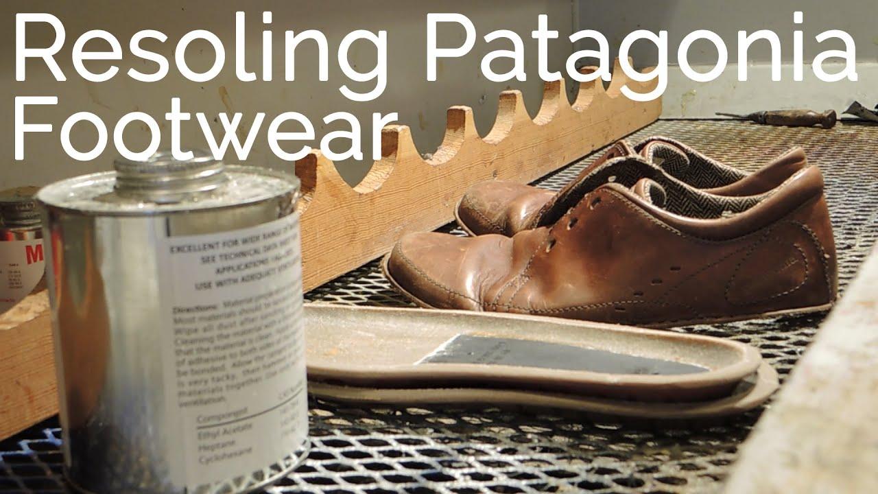 852cbcaa Resoling Patagonia Footwear - YouTube