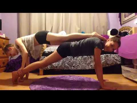 yoga challenge for yoga challenge with my best friend