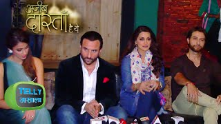 Video Saif Ali Khan and Illeana D'Cruz To Make Special Appearance in Ajeeb Daastaan Hai Yeh | Life Ok Show download MP3, 3GP, MP4, WEBM, AVI, FLV Juni 2018