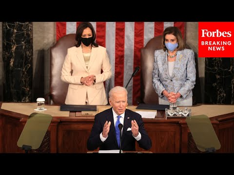 Biden Calls For $15 Minimum Wage, Paycheck Fairness Act In Speech To Joint Session Of Congress