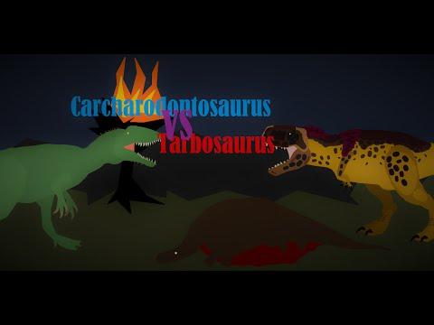 Carcharodontosaurus Vs Tarbosaurus!!