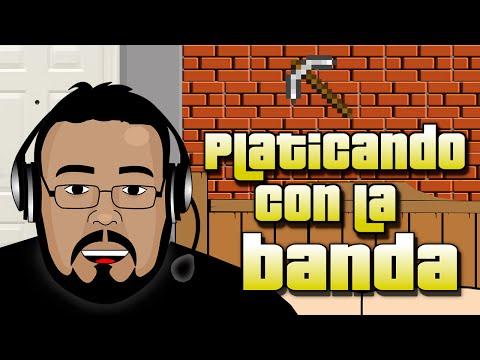 Platicando con la banda el 15 de septimebre viva mexico!!!