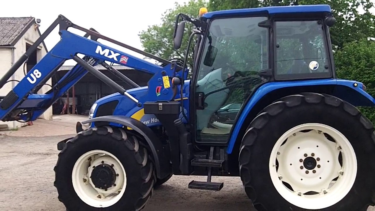 New Holland T5070 c/w MX U8 Loader