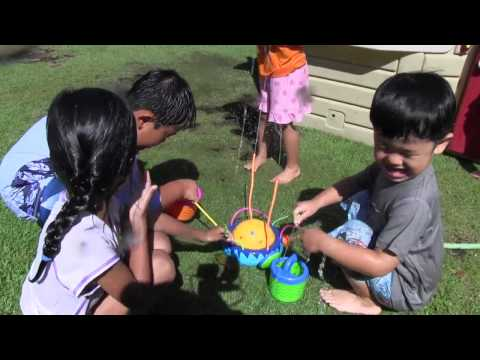 Water Play Day at St. Marianne Cope Preschool