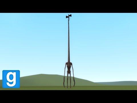SIREN HEAD, BUT HE'S LONGER - Garry's Mod Sandbox