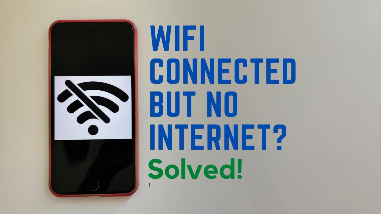 Wifi connected but no Internet | Solution