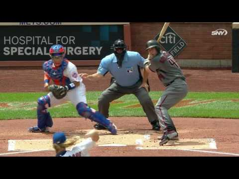 August 11, 2016-Arizona Diamondbacks vs. New York Mets