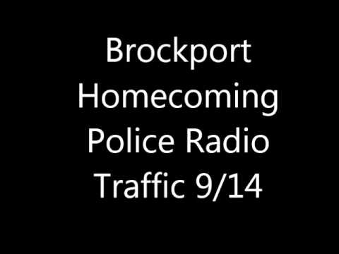 Brockport Homecoming Police Audio 9/20/14