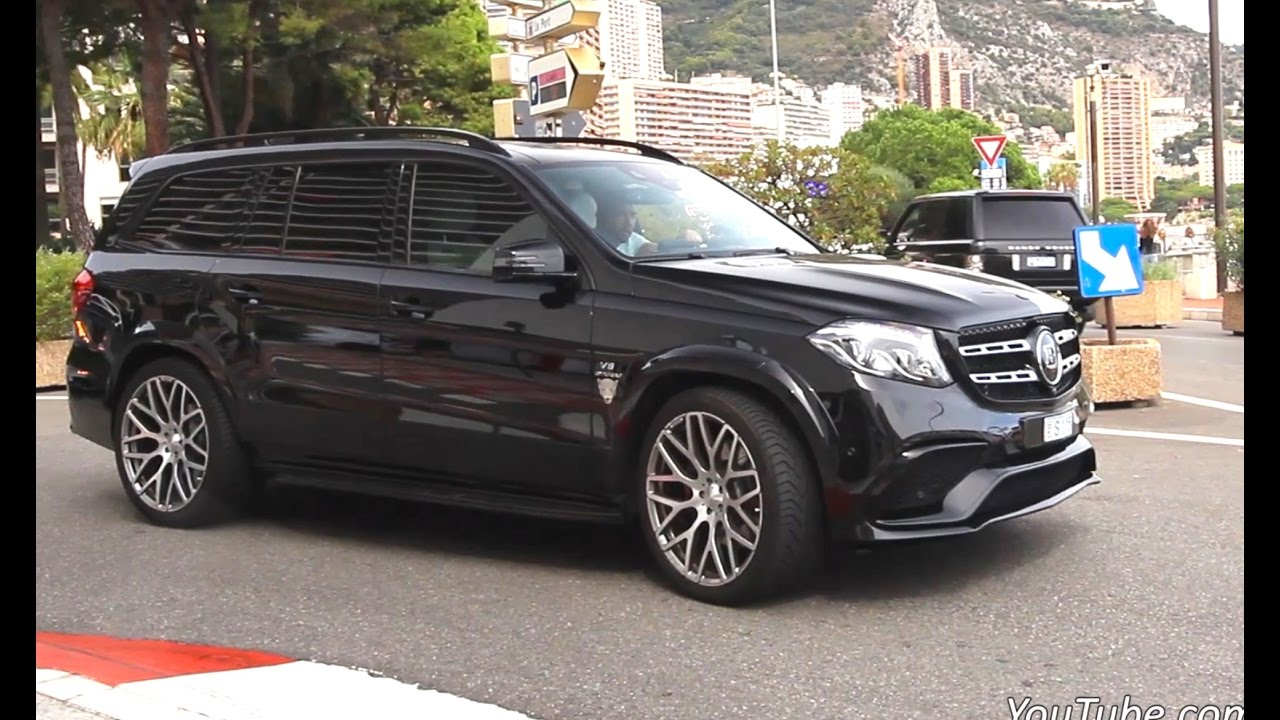 Mercedes Gls Amg >> Brabus GLS 850 XL - Accelerations Sound and Overview ...