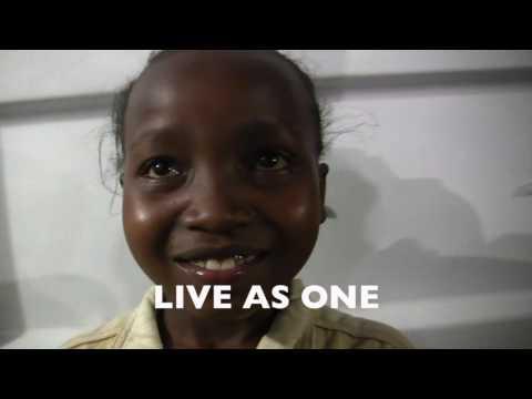Kenyan Girl, 10, Recites Poem of Unity in a Nairobi Slum