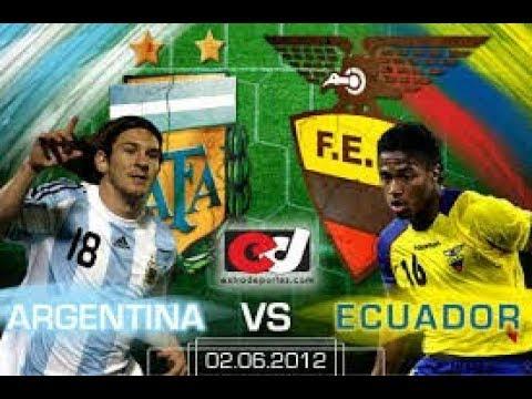 Argentina vs Ecuador En Vivo