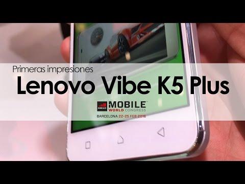 Conoce nuestras primeras impresiones del nuevo Vibe K5 Plus de Lenovo