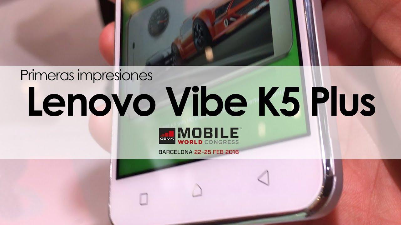 Conoce Nuestras Primeras Impresiones Del Nuevo Vibe K5 Plus De