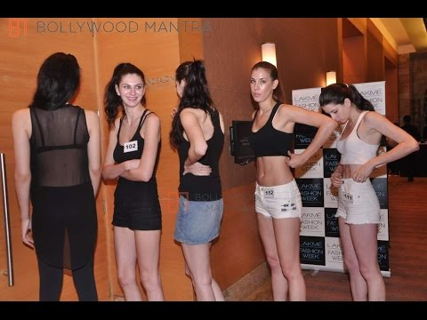 Uncut Lakme Fashion Week's 2016 model auditions WATCH NOW!
