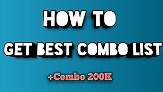 How To Get Premium VIP Combo List 2018 | Minecraft & Spotify | +200k Combos | Kidux Leecher V1.01