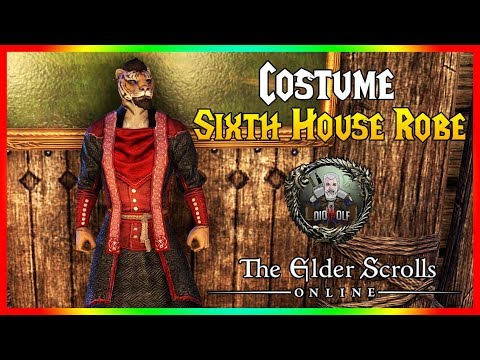 THE ELDER SCROLLS ONLINE - DIOGUIA, Sixth House Robe Costume