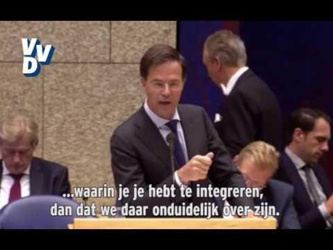 Mark Rutte vs Jesse Klaver over 'Pleur op'