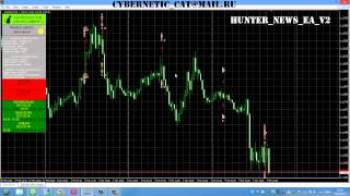 Forex expert Advisor trading news Hunter News EA v2 EN