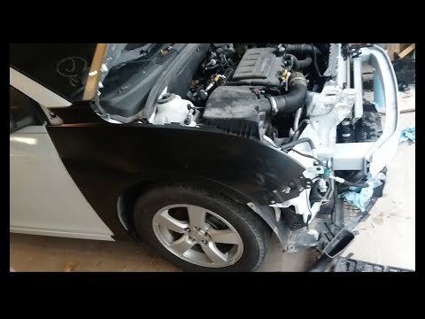 Rebuilding A Salvage Chevy Cruze In A Weekend